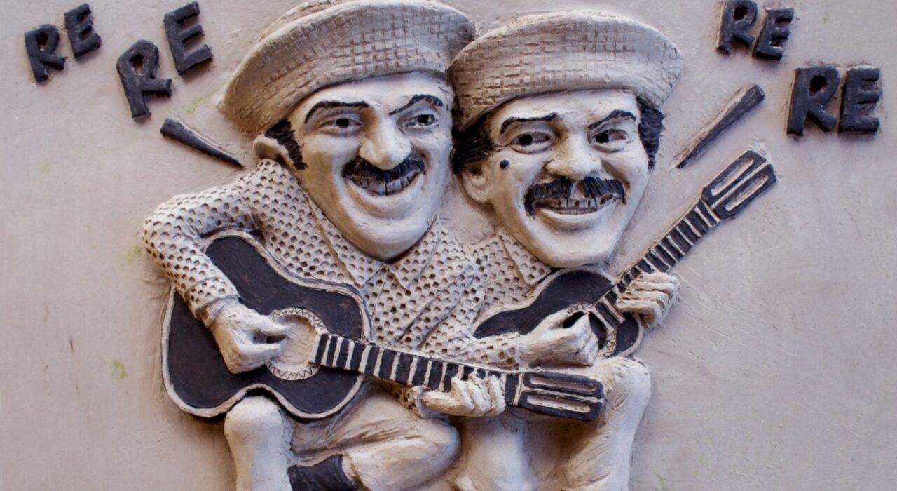 Imagem: Alvarenga e Ranchinho (Genin Guerra, detalhe)